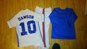 uniforme des Expos de Montréal année '80 Andre Dawson (enfant )
