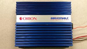 Old School Orion 260 Cobalt Car Amp