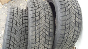 195/55/16 winter  tires only 3 Antractica 5 Gatineau Ottawa / Gatineau Area image 5