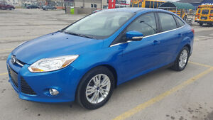 2012 Ford Focus SEL - Excellent shape, winter tires and starter!
