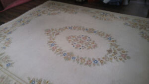 Amazing 8 5 X 12 Hand Knotted Wool Rug Just Cleaned