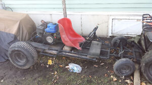 custom built Go Kart