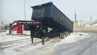NEW PJ 20FT GOOSE NECK DUMP TRAILER