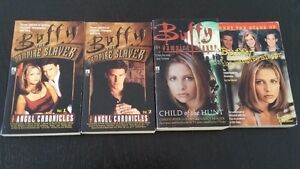 Livres Buffy The Vampire Slayer, 2$ chacun