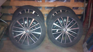 VOLKSWAGON RIMS AND TIRES