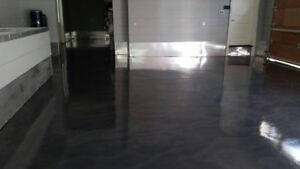 EPOXY AND POLISHED CONCRETE INSTALLATIONS
