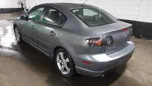 2004 MAZDA 3 GT AUTOMATIC E-TESTED FIRST OWNER WITH ONLY 140K.