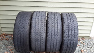 Four Michelin Tires