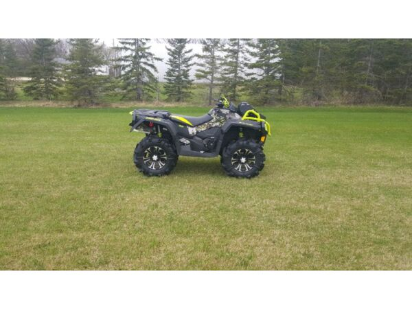 Used 2015 Can-Am Outlander XMR 1000