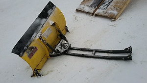 County atv plow with mount