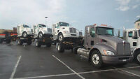 Deckers for truck transport