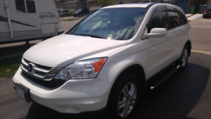 2011 HONDA CRV EX L 4WD - LOADED LEATHER 95 KMS $15,500