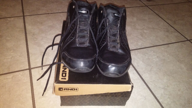 And 1 shoes (black)