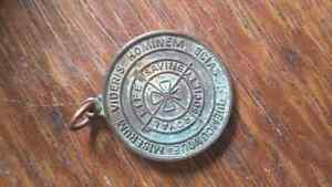 RARE 1929-55 BRONZE ROYAL LIFE SAVING SOCIETY MEDALLION Oakville / Halton Region Toronto (GTA) image 1