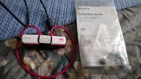 Sony waterproof mp3 walkman