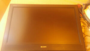 """sony 32"""" tv with drop down ceiling mount"""