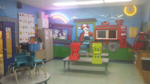 SUBSIDIZED DAYCARE AVAILABLE  SPACES  GARDERIE SUBVENTIONNÉE