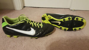 Soccer Cleats, Shin Pads