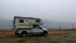 1994 Security Timberline Truck Camper - Ready for conversion!