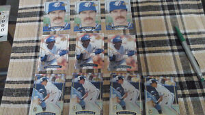 1992 special edition Bluejays cards