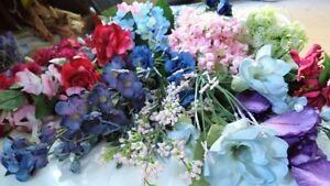 "SILK FLOWERS      1 st Lot         ""  PRICE REDUCED ' Belleville Belleville Area image 1"
