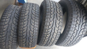 Winter tires P255/50R19 very good condition!!!