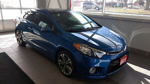***14 Forte Koup only 37,124kms and $118 biweekly $0 Down*!
