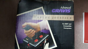 Advanced Gravis Analog Joystick for IBM and Compatible Computers
