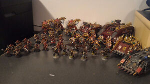 Painted 40k Chaos army, trade for X wing? London Ontario image 1