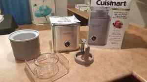 Brand new (never used) Cuisnart Ice Cream Maker