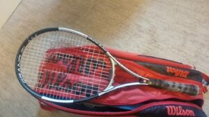 Wilson Tennis Rackets and Bag for Sale!!