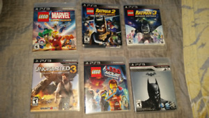 PS3 games $5 each or all for $30