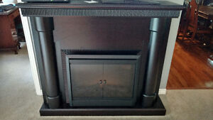 Electric fireplace and surround/mantle for sale