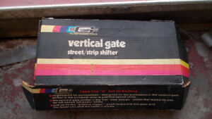Vertical gate