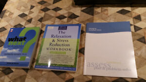 Workplace stress, relaxation and new job search books