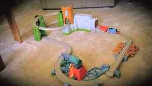 tomas and friends castle quest train set