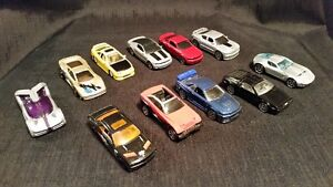 Mustang, Jaguar, Jeep, Delorean, Charger