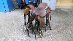 Pish wade ranch saddle