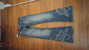 New with tags beaded Parasuco jeans