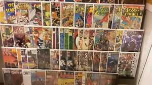 Comic Books for sale (OVER 30 boxes!!!) (COURTICE FLEA MARKET)