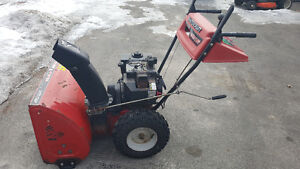 "26"" 8hp Mastercraft Snowblower. Electric Start"