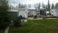 Candle Lake Nobles point trailer and leased lot