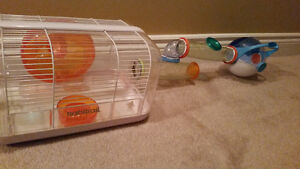 Hamster Cage w tunnels and nest