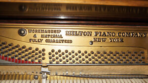 Excellent LARGE MILTON NEW YORK UPRIGHT PIANO