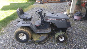 Craftsman twin lawn tractor for sale