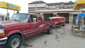 Ford F250, extended cab long box, 5.8l automatic, RWD