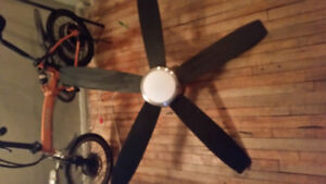Ceiling fan , remote controlled used for 6 months