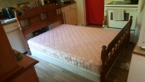 Delivered double bed complete
