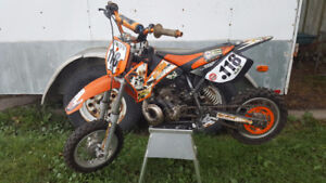KTM 50 LC Pro Junior - ICE TIRES & FENDERS INCLUDED !