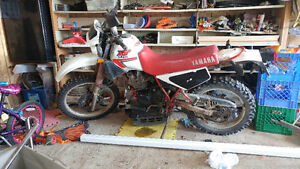 Yamaha XT 350 1985 with a lot of extra